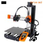 Prusa Impressora 3D Mini+ Kit Black