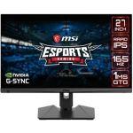 "Monitor MSI 27"" Optix MAG274QRF-QD WQHD 165Hz FreeSync"
