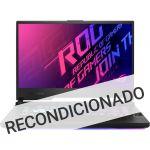 Asus ROG G15 G512LV-70A26PB1 i7-10750H 16GB 1TB SSD RTX 2060 W10 (Recondicionado Grade A)