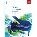 Abrsm Livro Piano Exam Pieces - Grade 6 2019&2020