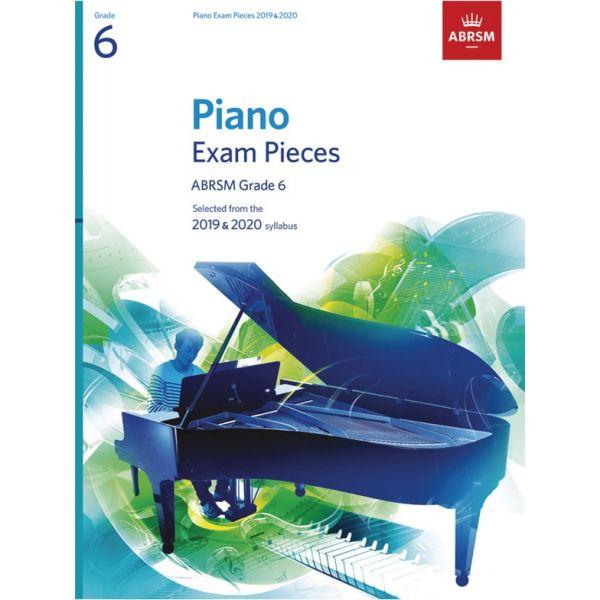 Abrsm Livro Piano Exam Pieces - Grade 6 2019&2020
