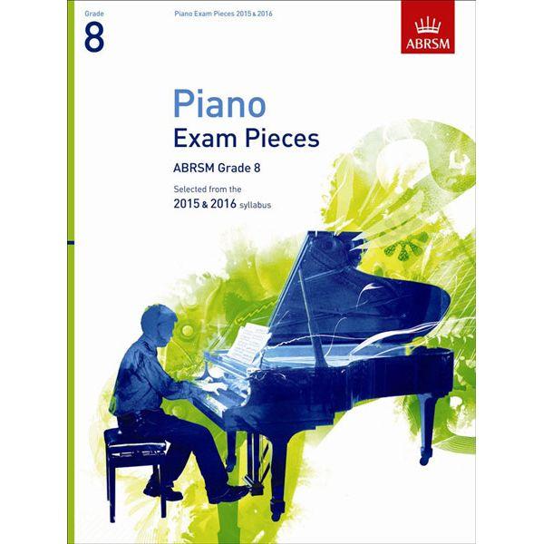 Abrsm Livro Piano Exam Pieces 2015 & 2016 - Grade 8