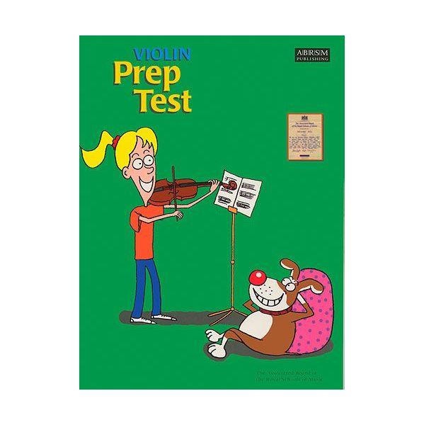 Abrsm Livro Violin Prep Test