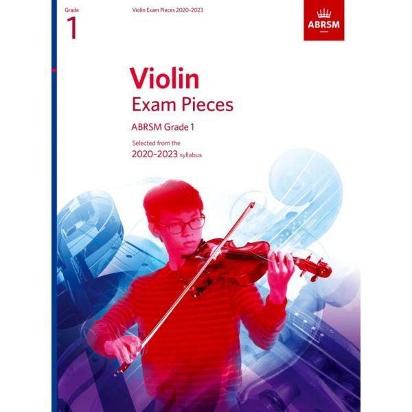 Abrsm Livro Violin Exam Pieces - Grade 1 - 2020-2023