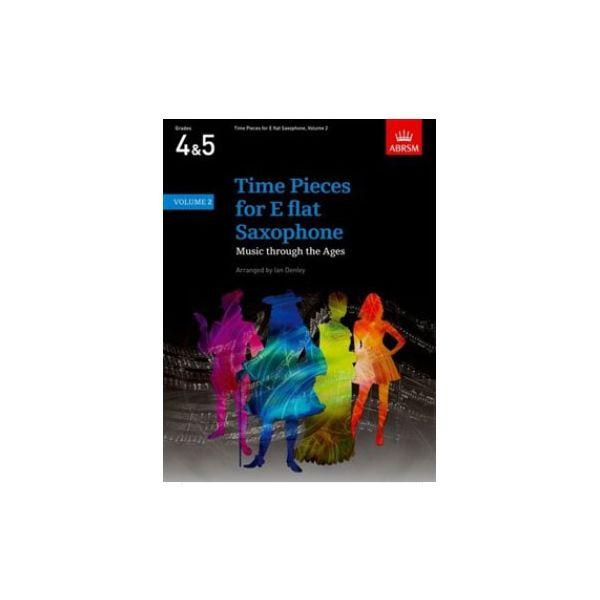 Abrsm Livro Time Pieces for e Flat Saxophone - Volume 1