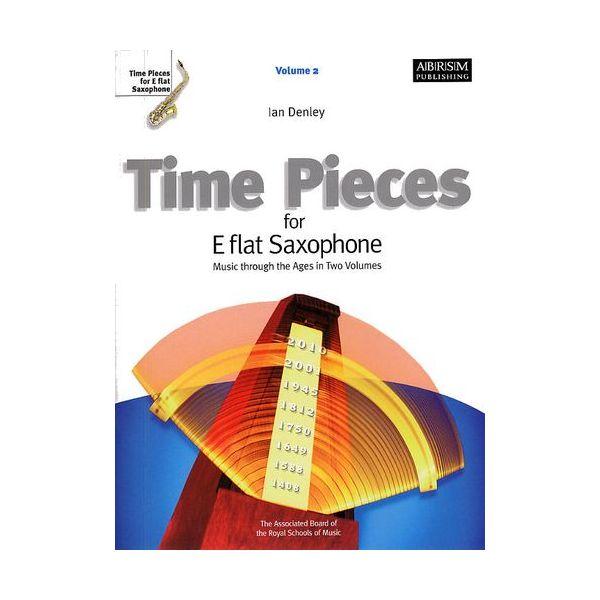 Abrsm Livro Time Pieces for e Flat Saxophone - Volume 2