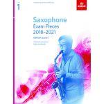 Abrsm Livro Saxophone Exam Pieces - Grade 1 2018-21