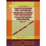 Livro Weissenborn Bassoon Studies for Beginners