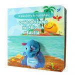 Europrice - O Meu Livro de Fantoches - O Hipopótamo Hilário e a Baleia - HI4645-B