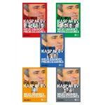 BOX Meus Grandes Predecessores, Garry Kasparov os 5 livros da coleção