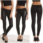Leggings Zipper Preto - 348285