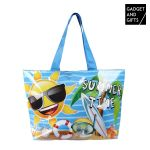 Gadget and Gifts Saco de Praia Emoticons Summer Time