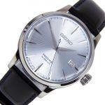 Seiko Relógio Presage Preto/Azul/Prateado - SRPB43J1