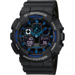 Casio Relógio G-shock Plastic / Resin Blue - GA-100-1A2ER