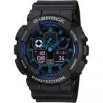 Casio Relógio G-shock Plastic / Resin Blue - GA-100-1A2ER