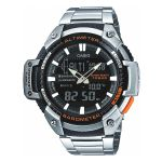 Casio Relógio Triple Sensor Plastic / Resin Black - SGW-450HD-1BER