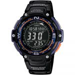 Casio Relógio Plastic / Resin Black - SGW-100-2BER