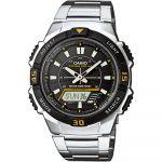 Casio Relógio Tough Solar Plastic / Resin Black - AQ-S800WD-1EVEF