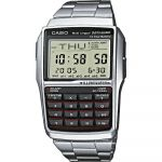 Casio Relógio Databank Calculator Plastic / Resin Silver - DBC-32D-1AES