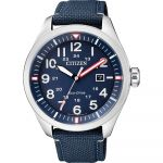 Citizen Relógio Eco-drive Stainless Steel Blue - AW5000-16L