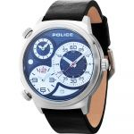 Police Relógio Elapid Stainless Steel Blue - PL14542JS-02