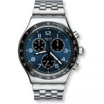 Swatch Relógio Boxengasse Stainless Steel Blue - YVS423G