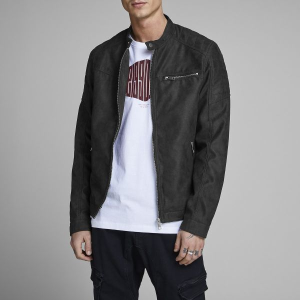Jack & Jones Blusão Rocky - 12147218-BLACK-PU