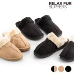 InnovaGoods Chinelos Relax Fur 40