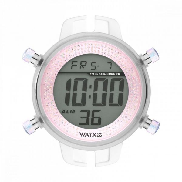 Watx and Co Mostrador de Relógio M Digital Iris Rosa - RWA1130