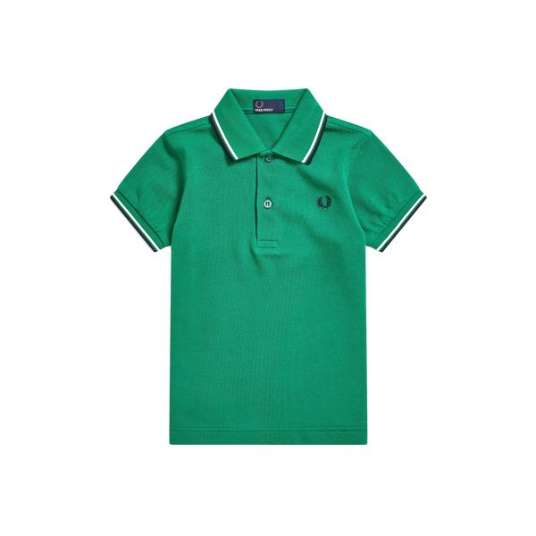 Fred Perry Kids Polo Twin Tipped SY3600-330 Privet 2/3