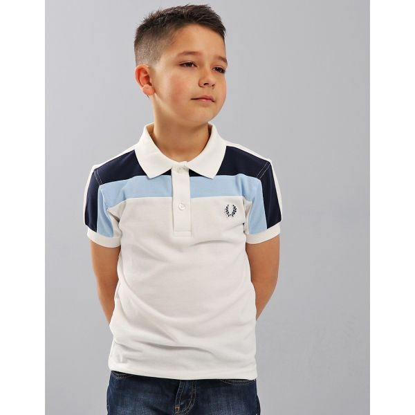 Fred Perry Polo Twin Tipped Shirt Kids 5/6A - SY2603_303-5_6a