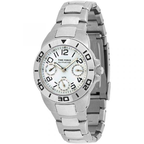 Time Force Relógio - TF3088B02M-B/W