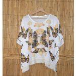 Aquarium - Feel the Beach Túnica Primavera Branca - 40045