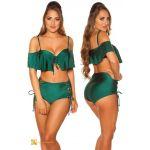 KouclaFashion Bikini Sexy Cintura Alta Xl Verde - 0000FL6925_18644_2397