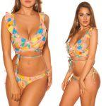 Neufred Paris Bikini Floral Hawaii M Coral - 0000FM0106_17121_2373