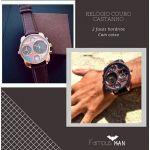 Relógio em Couro cod.H19 - 2006237851284