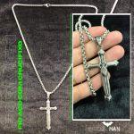 Fio em Aço com Crucifixo para Homem Cod. H24 37870640398504