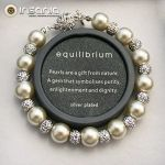 Equilibrium Pulseira de Pérolas Mini Shamballa - 068-461:04666