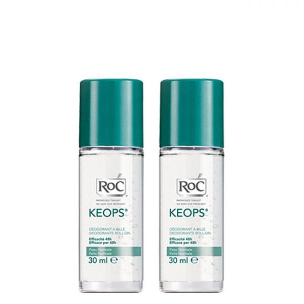 ROC Keops Deo Roll-On 48h 2x30ml