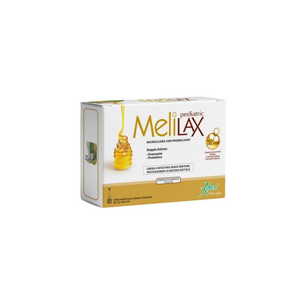Aboca Melilax Pediatrico Micro Clister 6x5g
