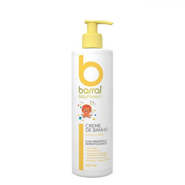 Barral Babyprotect Creme de Banho 500ml