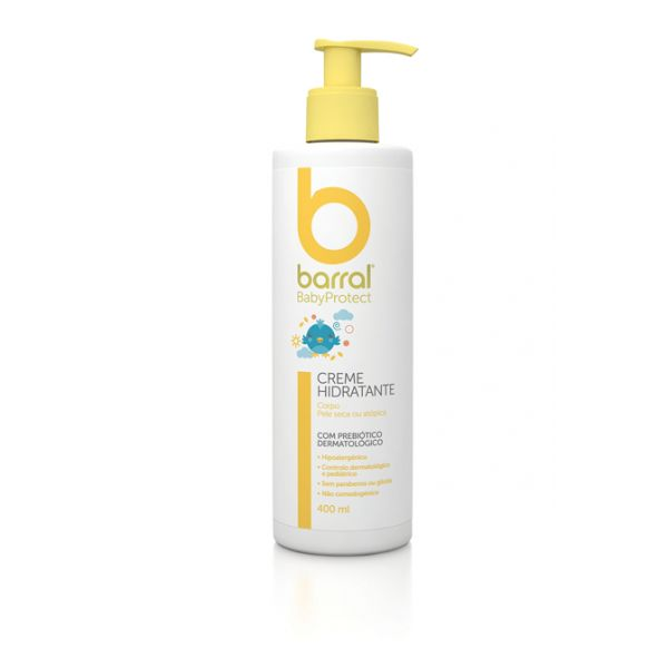 Barral Babyprotect Creme Hidratante 400ml