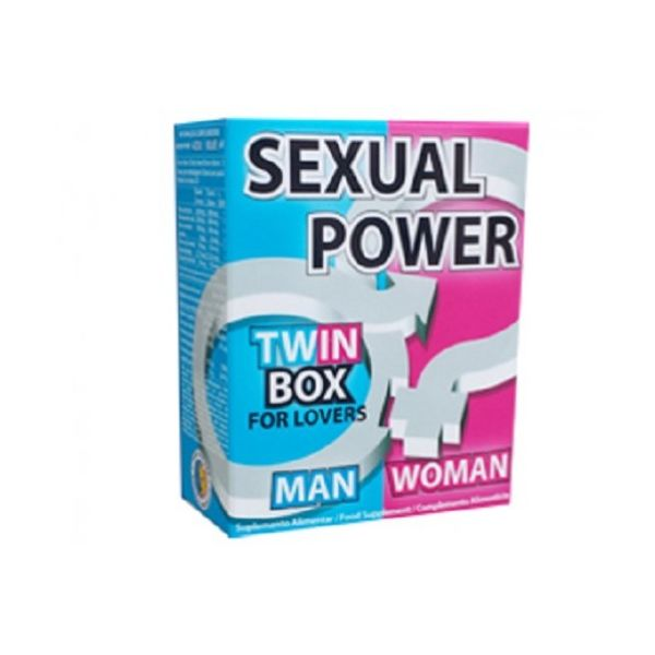 Pure Nature Sexual Power Twin Box 60 comprimidos