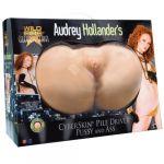 Topco Masturbador Wildfire Celebrity Series Audrey Hollander Pile Driver Vagina e Anus