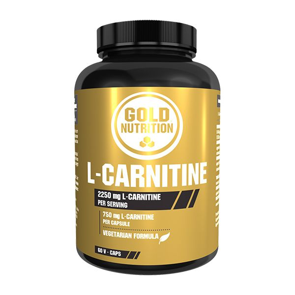 Gold Nutrition L-Carnitine 750mg 60 cápsulas