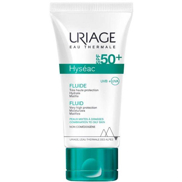 Protetor Solar Fluido Protetor Uriage Hyseac SPF50+ 50ml