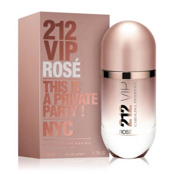 8cfaf6e0f4c18 Perfume Mulher Carolina Herrera 212 VIP Rose Woman EDP 50ml ...
