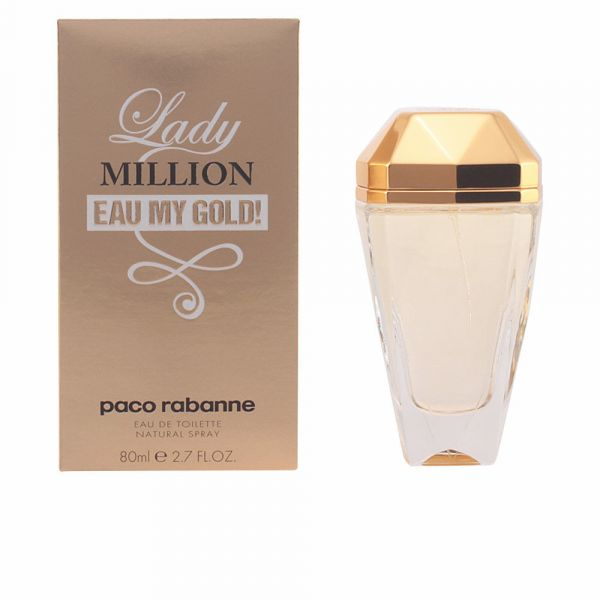 46dfb7b1d Perfume Mulher Paco Rabanne Lady Million Eau My Gold Woman EDT 80ml ...
