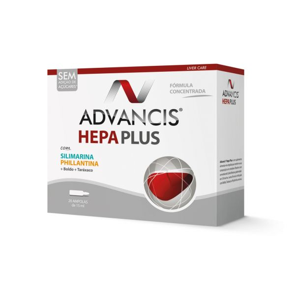 Advancis Hepa Plus 20x15ml