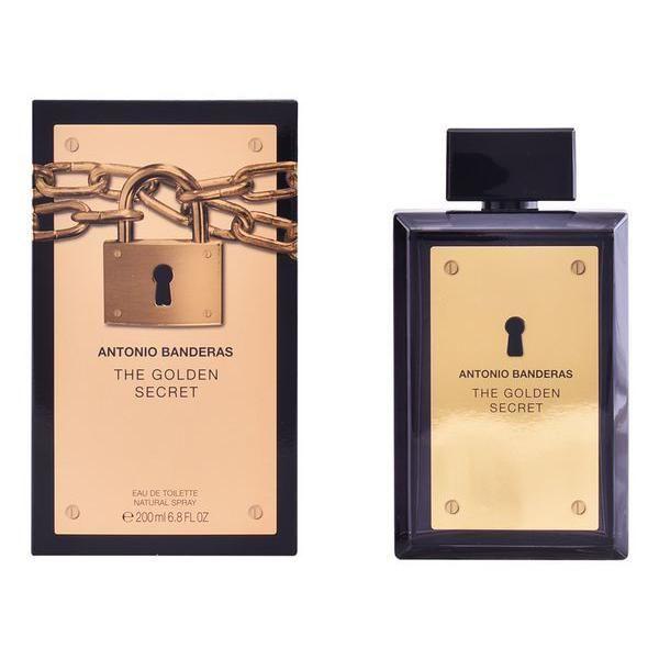 0b05ba8265 Perfume Homem Antonio Banderas Golden Secret Man EDT 200ml - KuantoKusta